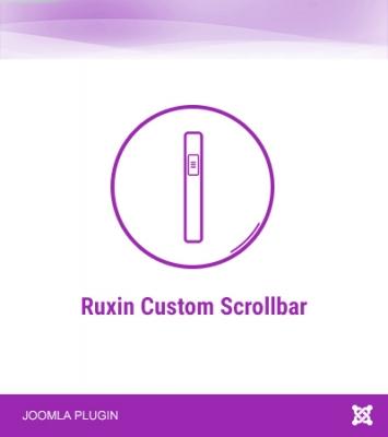 Ruxin Custom Scrollbar
