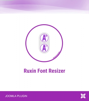Ruxin Font Resizer