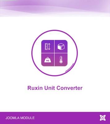 Ruxin Unit Converter